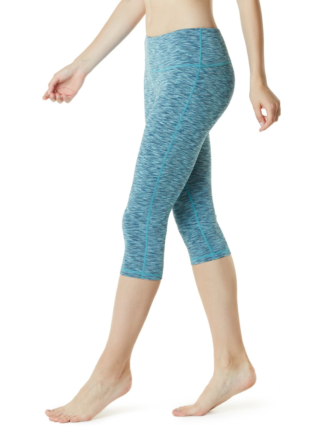 TSLA Yoga 17 Inches Capri Mid-Waist Pants w