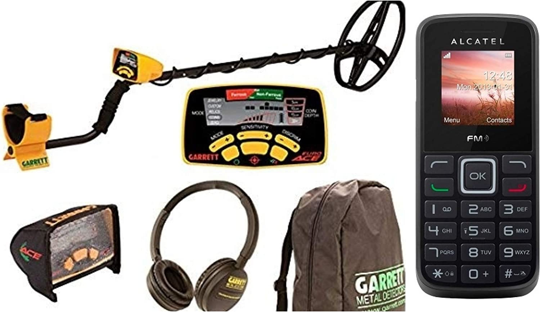 Metales cubremetales Garrett euroace Ace 350 Euros Ace + Bolsa + Funda de Pantalla + Auriculares: Amazon.es: Deportes y aire libre