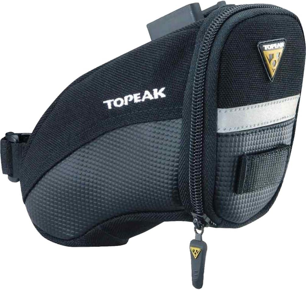 TOPEAK Aero Wedge Pack (QuickClick) - Bolsa para sillín de Bicicletas