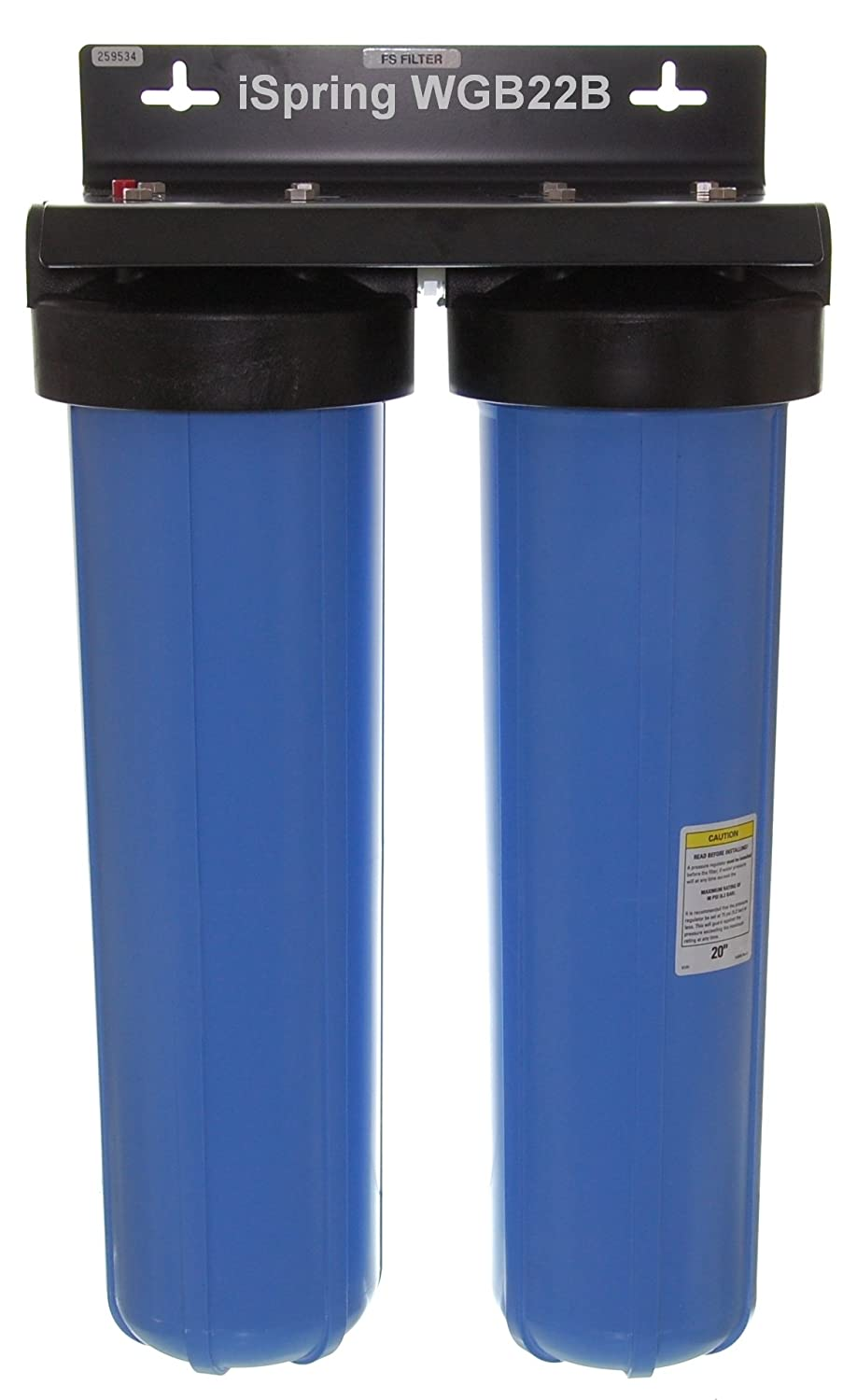 Whole House Sediment Water Filter Amazoncom Ispring Fp220bx2 20 Micron 20 Inch Big Blue Whole