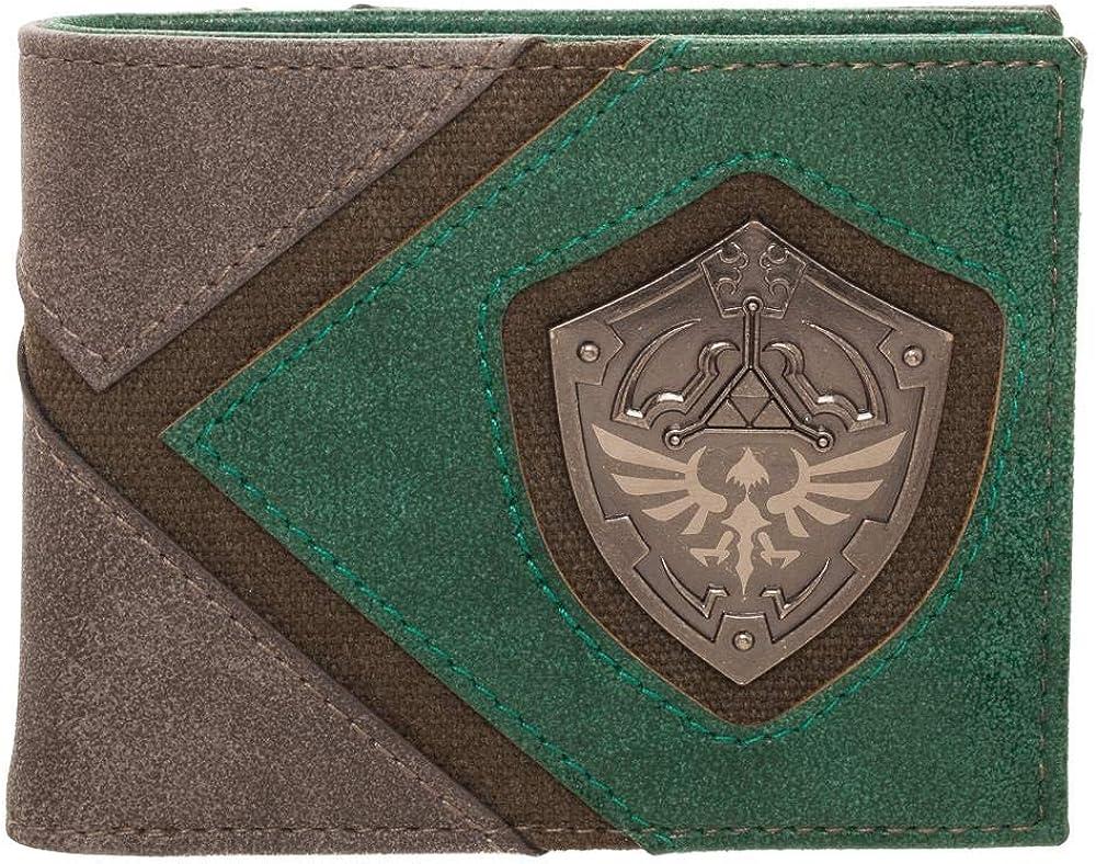Amazon.com: Legend of Zelda Wallet Gift for Gamers Legend of Zelda  Accessories - Zelda BiFold Wallet Legend of Zelda Gift: Clothing