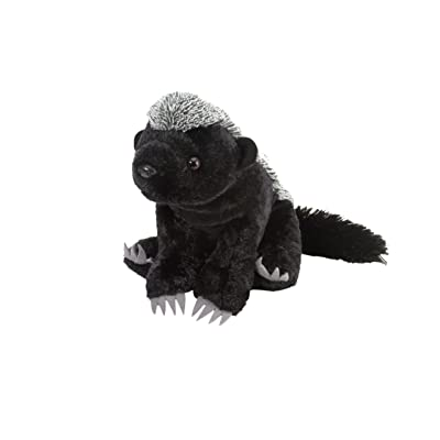 Wild Republic Honey Badger Plush, Stuffed Animal, Plush Toy, Gifts for Kids, Cuddlekins 12 Inches: Wild Republic: Toys & Games