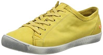 Damen Isla Smooth Sneakers, Schwarz (Schwarz), 37 EU Softinos