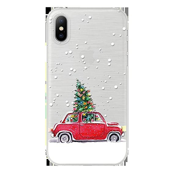 Amazon.com: Soft TPU Cover for iPhone X 6 6S Plus 5 5S SE ...