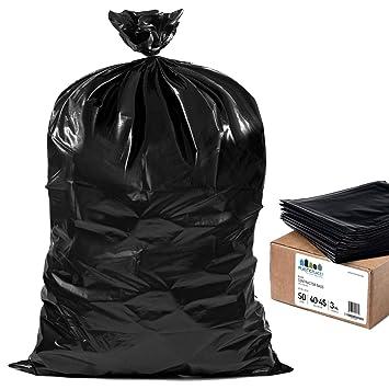 Amazon.com: Plástico Contractor bolsas de basura 40-45 ...