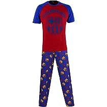 FC Barcelona Football Club 2 Piece Pajamas Set
