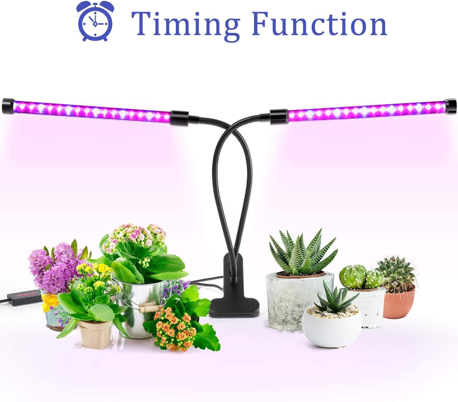Ankace Dual Head Indoor Plant Lights Decorative