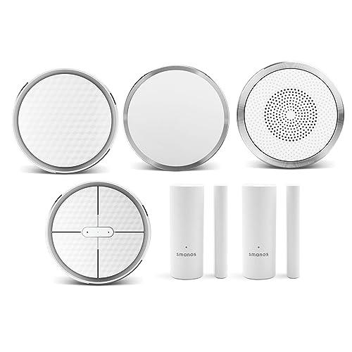 Smanos K1  : l'alarme intelligente, compatible avec Alexa