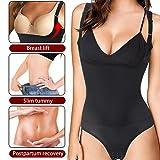 Junlan Waist Trainer Body Shaper Bodysuit Women