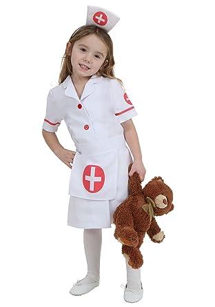 f5f5fc84969 Toddler Nurse Costume Red,White