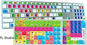 New FL Studio Keyboard Stickers for Desktop, Laptop and Notebook
