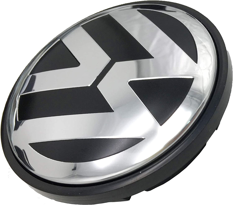 Sets of 4 Pcs Lingyi Wheel Center Hub Caps 70mm Wheel Hub Cover Replacements Logo Badge Emblems for VW P//N:7L6 601 149B