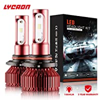 Deals on 2-Pack LYCAON LED Headlight Bulbs Conversion Kit