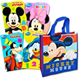 Disney Mickey Mouse Tote Bag with Mickey Mouse Board Book Set