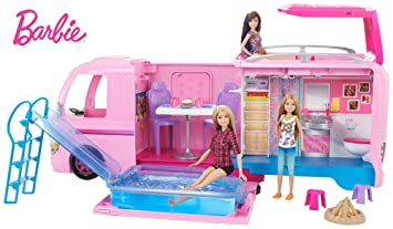 Barbie Dream Camper Doll Vehicles at amazon