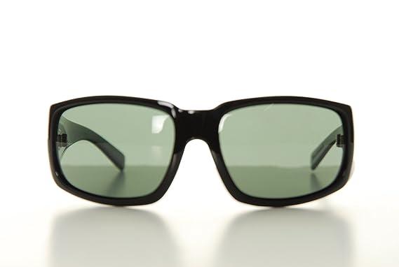 b7b3cd2eda Von Zipper Palooka Black Gloss Grey Vintage Grey Lens Sunglasses SMSFEPAL