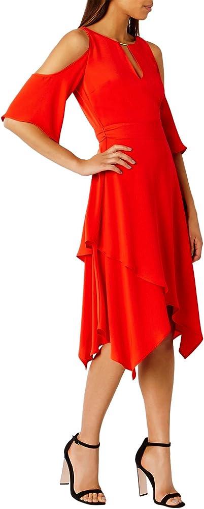 Coast Rossano, Falda para Mujer, Rojo (Red 84), 46: Amazon.es ...
