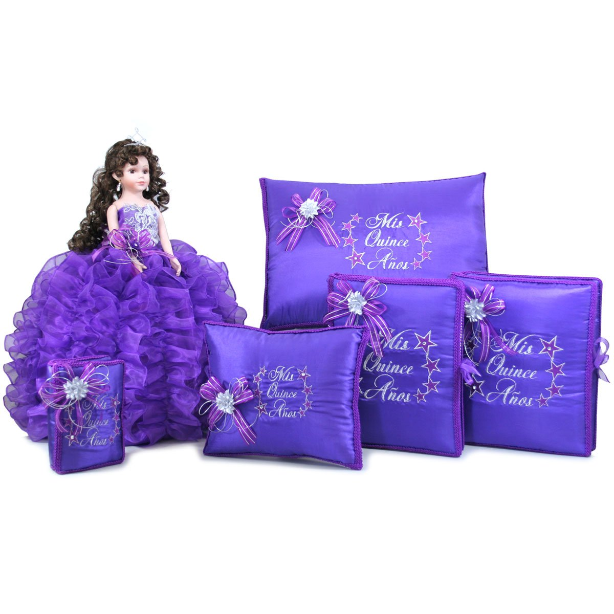 Quinceanera Doll Birthday Party Favor Set Q1001 (Basic set with English bible)