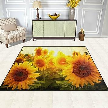 doshine Bereich Teppiche Matte Teppich 4 \'X5\', Sommer Blumen ...