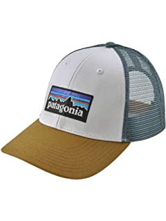 1fb87f793e28b Patagonia P6 LoPro Trucker Hat (Black) at Amazon Men s Clothing store