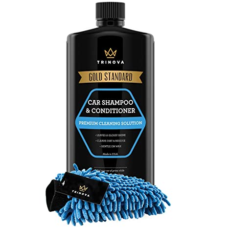 Car Shampoo Near Me >> Car Wash Concentrate Soap And Conditioner Chenille Microfiber Glove Kit Clean And Condition Truck Or Vehicle Paint Without Damaging Wax