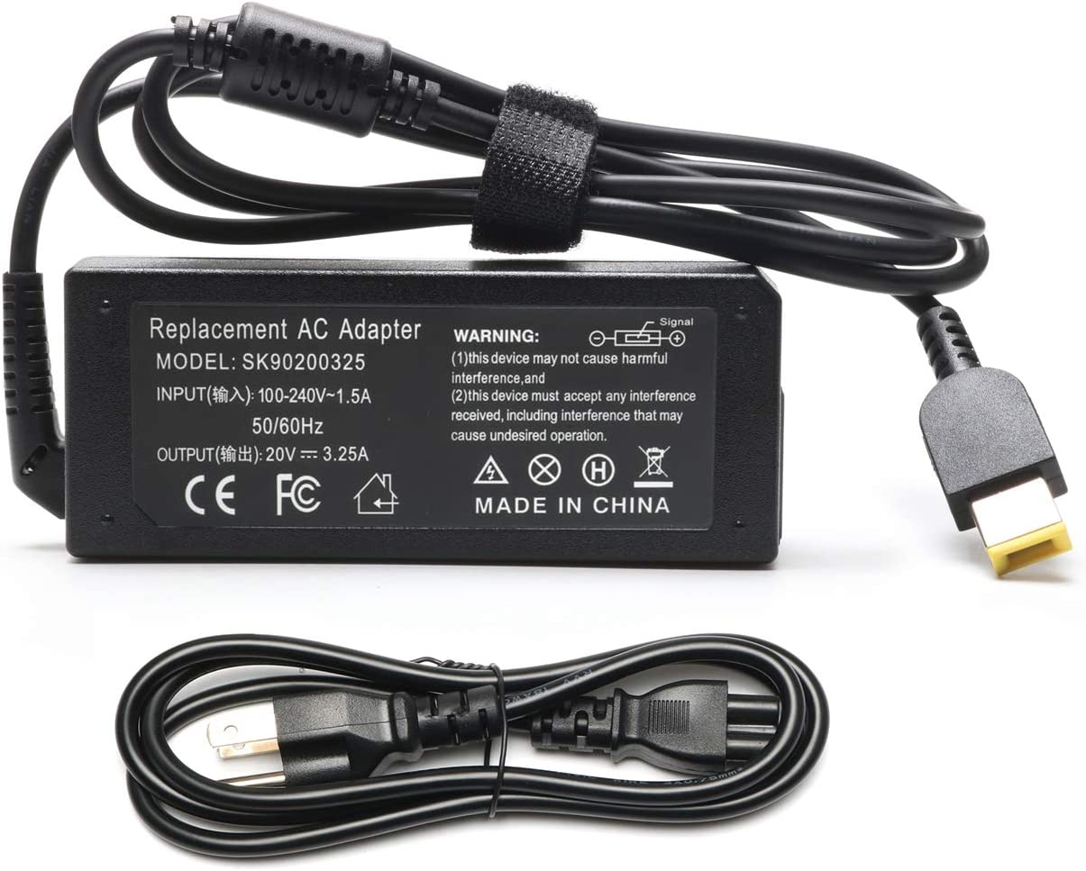 65W 20V AC Power Supply Adapter Charger PA-1650-72 for Lenovo Yoga 2 11 13 2 Pro 11s 11e X240 X240S X300S E431 E531 T440 T440P G500 G500s G505s