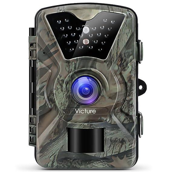 Victure Cámara de Caza Vigilancia 12MP 1080P IP66 Impermeable PIR Sensor de Movimiento Visión Nocturna 90 ° Angular para Fauna Seguridad Hogar Mascota ...