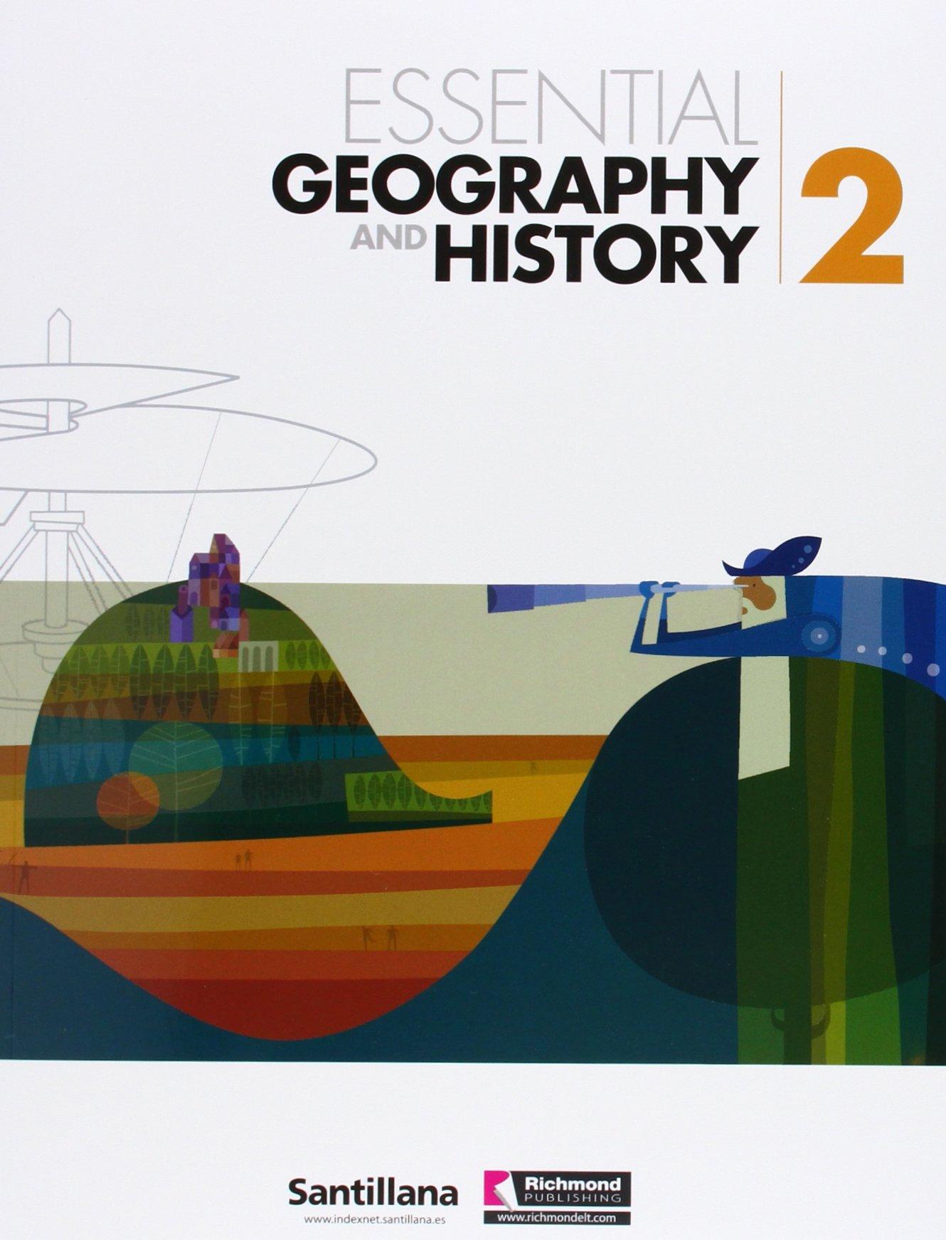 Essential Geography And History 2 + Cd Santillana Richmond: Amazon.es: Vv.Aa.: Libros en idiomas extranjeros