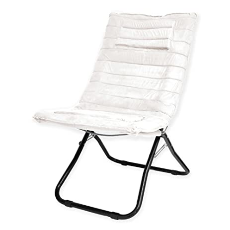 Amazon.com: Indoor Folding Chair Modern Portable lounger Seat Living ...