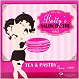 Betty Boop - Tableau Cadre Toile Licence Betty Boop Vintage Cuisine USA Betty's Salon de Thé