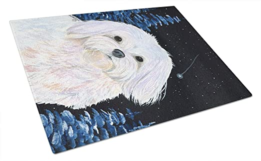 Carolines Treasures Dancers Glass Cutting Board Large Multicolor
