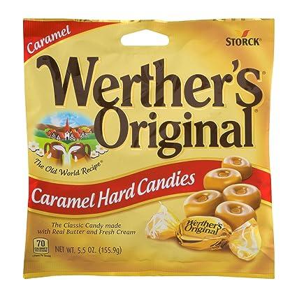 Werthers - Bolsas originales para dulces duros de 14 ml (2 ...
