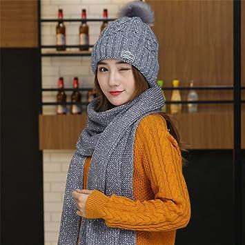 beanie Master-Halloween Navidad Sombreros Mujer Sombreros Tejidos Bufandas  Conjuntos de 757a98ab0ae