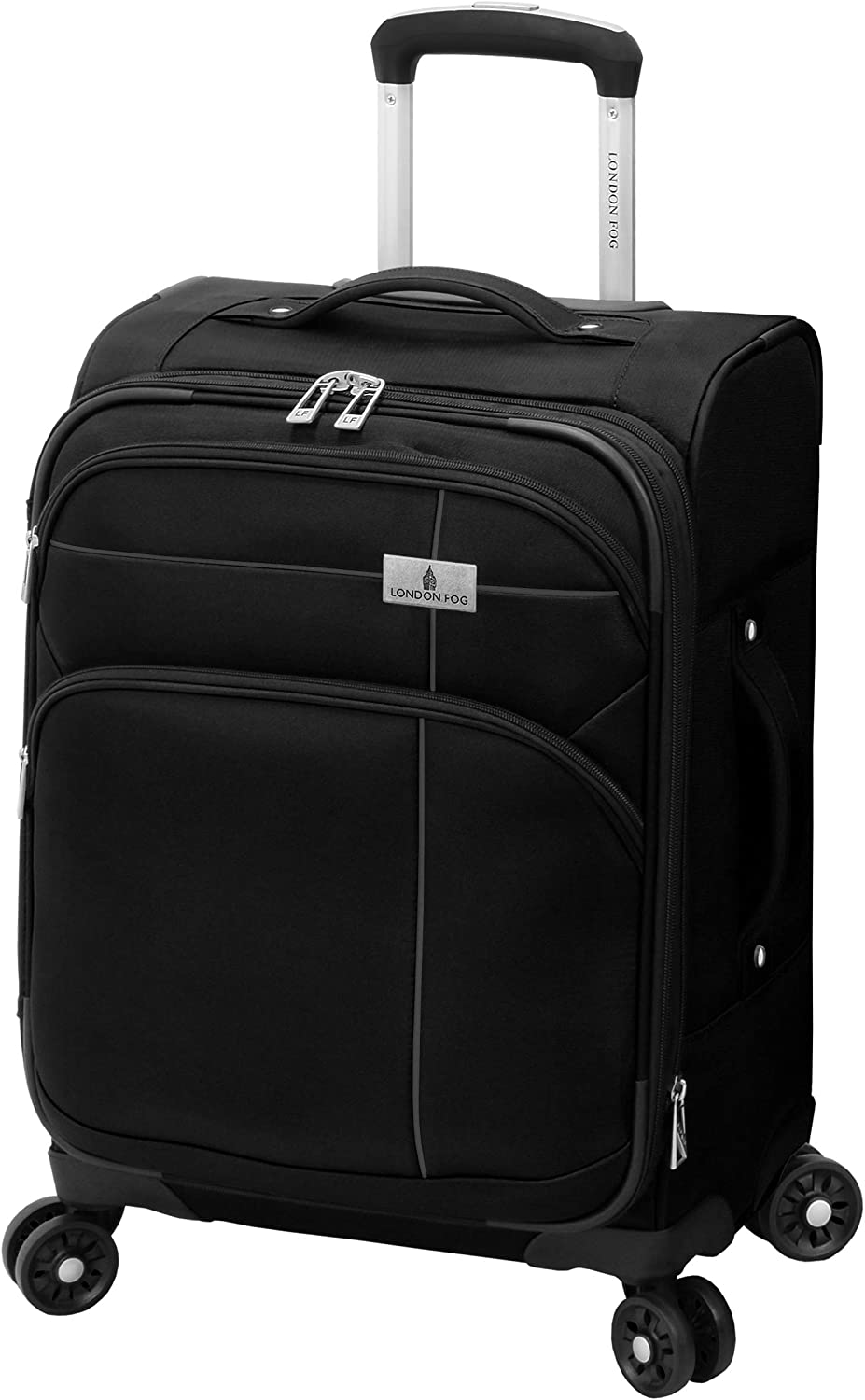 London Fog Cranford 20 Expandable Carry-on Spinner Cranberry