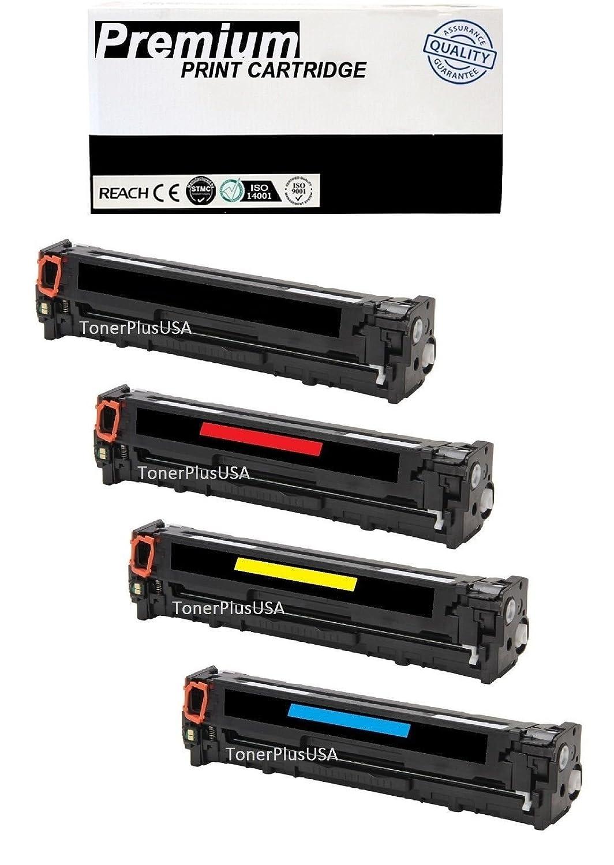 4 Multi-Color Toner Cartridge BCMY For Canon 131 imageCLASS LBP-7110CW MF8280 CW
