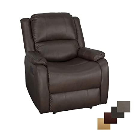 RecPro Charles Collection 30 Zero Wall RV Recliner Wall Hugger Recliner RV Living Room Slideout Chair RV Furniture RV Chair Chestnut