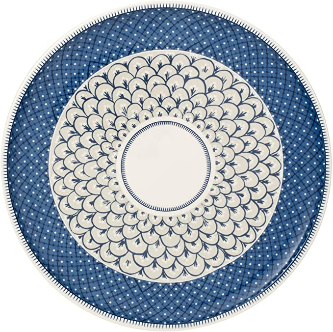 Porcellana Villeroy /& Boch Casale Blu Carla Piatto Dessert 22cm