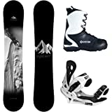 System Timeless and Summit Complete Men's Snowboard Package New 2017