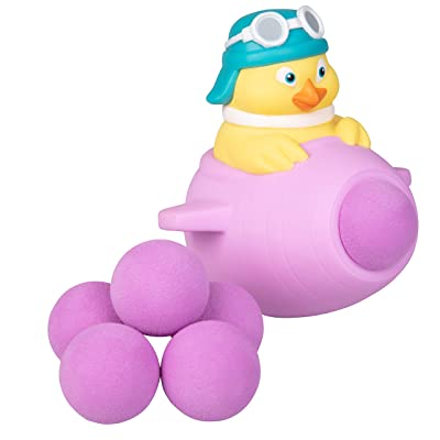 Hog Wild Easter Popper Toy - Flying Chick - Shoot Foam Balls Up to 20 Feet - 6 Balls Included - 4+: Toys & Games