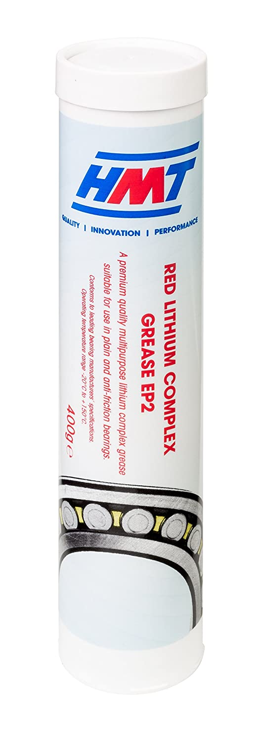 HMT HMTRLCEP2 Red Lithium Complex Grease EP2 - 400g Cartridge - x 3 Tubes