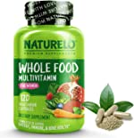 NATURELO Whole Food Multivitamin for Women - with Vitamins, Minerals, &
