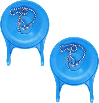 Blue 3 Inch Toilet Flappers Replacement for Gerber 99-788 Water Saving Easy to Install Long Lasting Rubber
