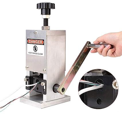 Máquina Manual De La Peladora De Cables Pelacables Pelacables Herramienta  De Reciclaje De Metal Para 1.5 6b80a7cadf36