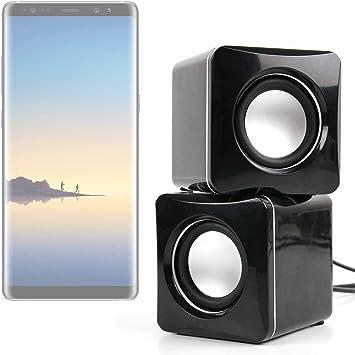 DURAGADGET Altavoces Compactos para Smartphone Samsung Galaxy Note ...