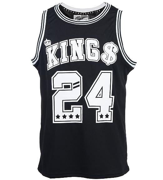 Para hombre Kings 24 NBA inspirado en un Soldado Imperial de pelota de baloncesto camiseta de