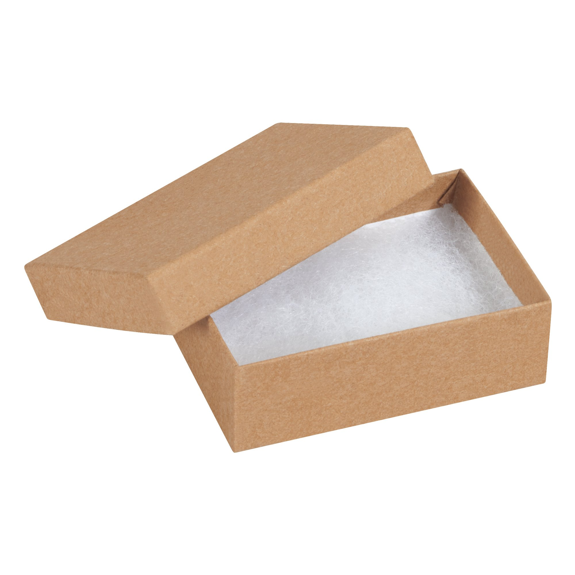 Boxes Fast BFJB321K Jewelry boxes, Load Capacity, 3.0625'' Length, 2.125'' width, 1'' Thick,, Kraft ( 00)