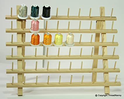 Amazon New Widebase 60 Spool Thread Rack For Sewing Quilting