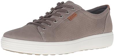 de7f2a9a06ffd Ecco Ecco Soft 7, Sneakers Basses Homme - Gris (2459Moon Rock), 41