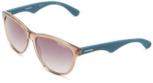 897f7b5b4f Carrera 6004_BFG Gafas de sol, Marrone/Celeste, 55 para Mujer: Amazon.es:  Zapatos y complementos
