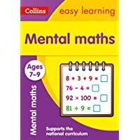 Collins Easy Learning Age 7-11 -- Mental Maths Ages 7-9: New Edition: Prepare for School with Easy Home Learning